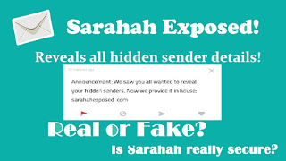 Sarahah Exposed: Is SarahahExposed.com Fake Or Real | Reveal Sender Name