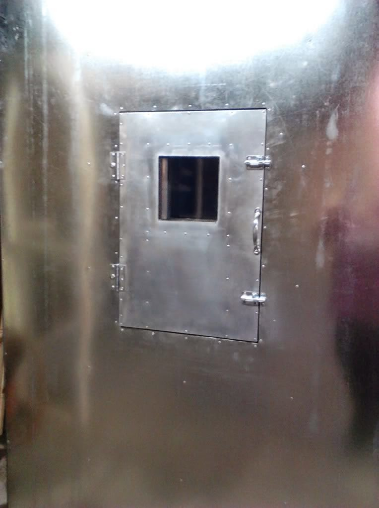Powder Coating Oven Door