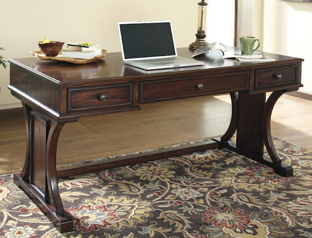buy cheap home office desk wood with drawers for sale online