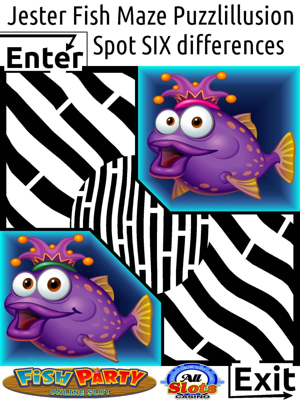 jester fish maze puzzlillusion