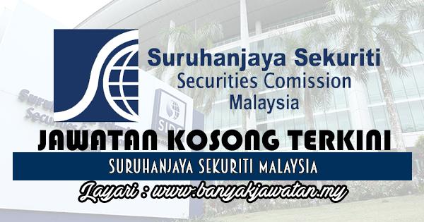 Jawatan Kosong 2017 di Suruhanjaya Sekuriti Malaysia www.banyakjawatan.my