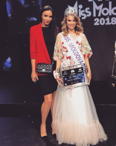 Miss Moldova 2018 winner Tamara Zaretcaia