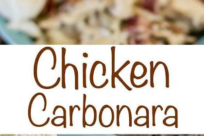 Sensational Chicken Carbonara Recipe