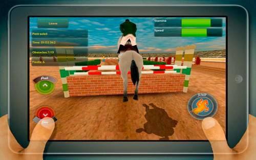 Jogo de corrida de cavalos para Android