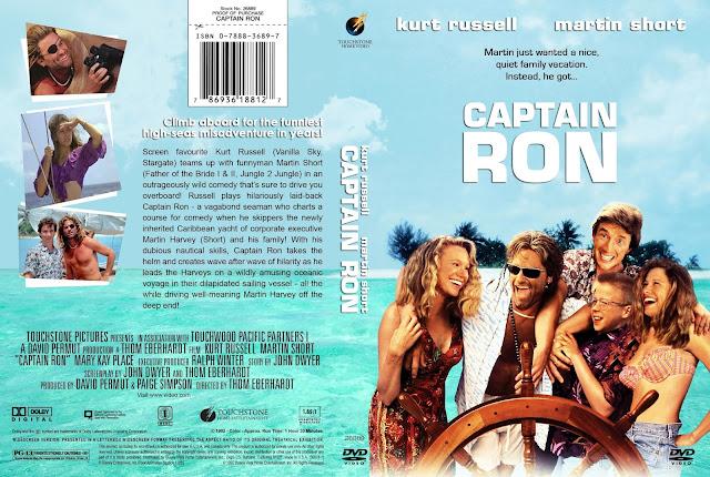 Captain Ron DVD Cover
