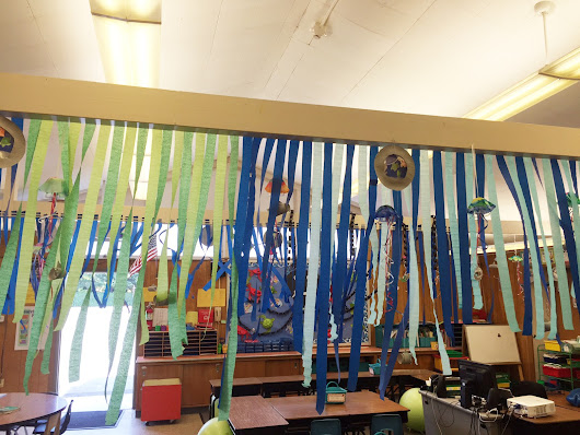 Open House | First Grade Ocean Theme