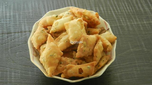Methi Namak Pare - Methi Mathri - Magic of Indian Rasoi - Priya R