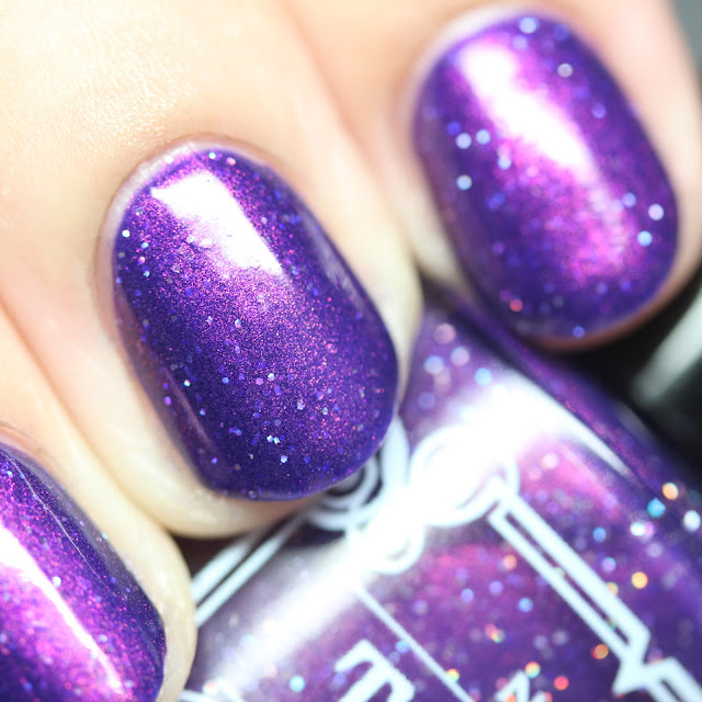 Tonic Nail Polish Huckleberry Sparkle