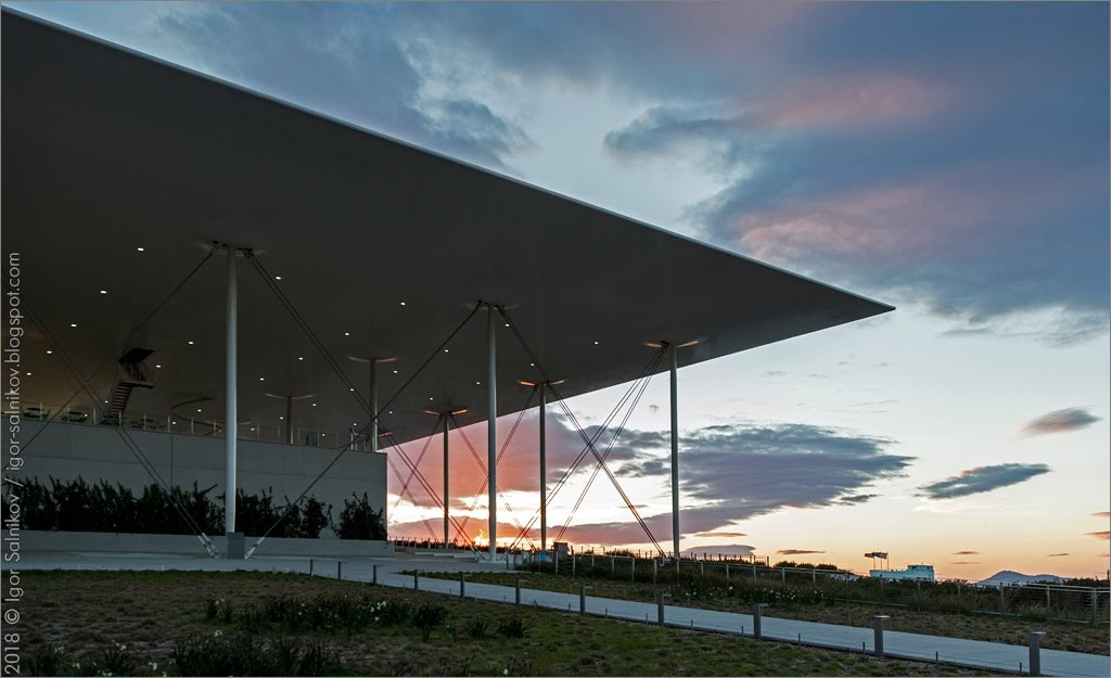 Греция Афины snfcc Stavros Niarchos Foundation Cultural Center
