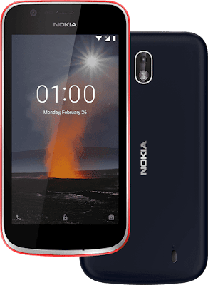 Specification Nokia One Android Oreo Edition Go