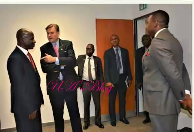 BREAKING!!! US Ambassador Storms EFCC Headquarters Abuja (Photos)