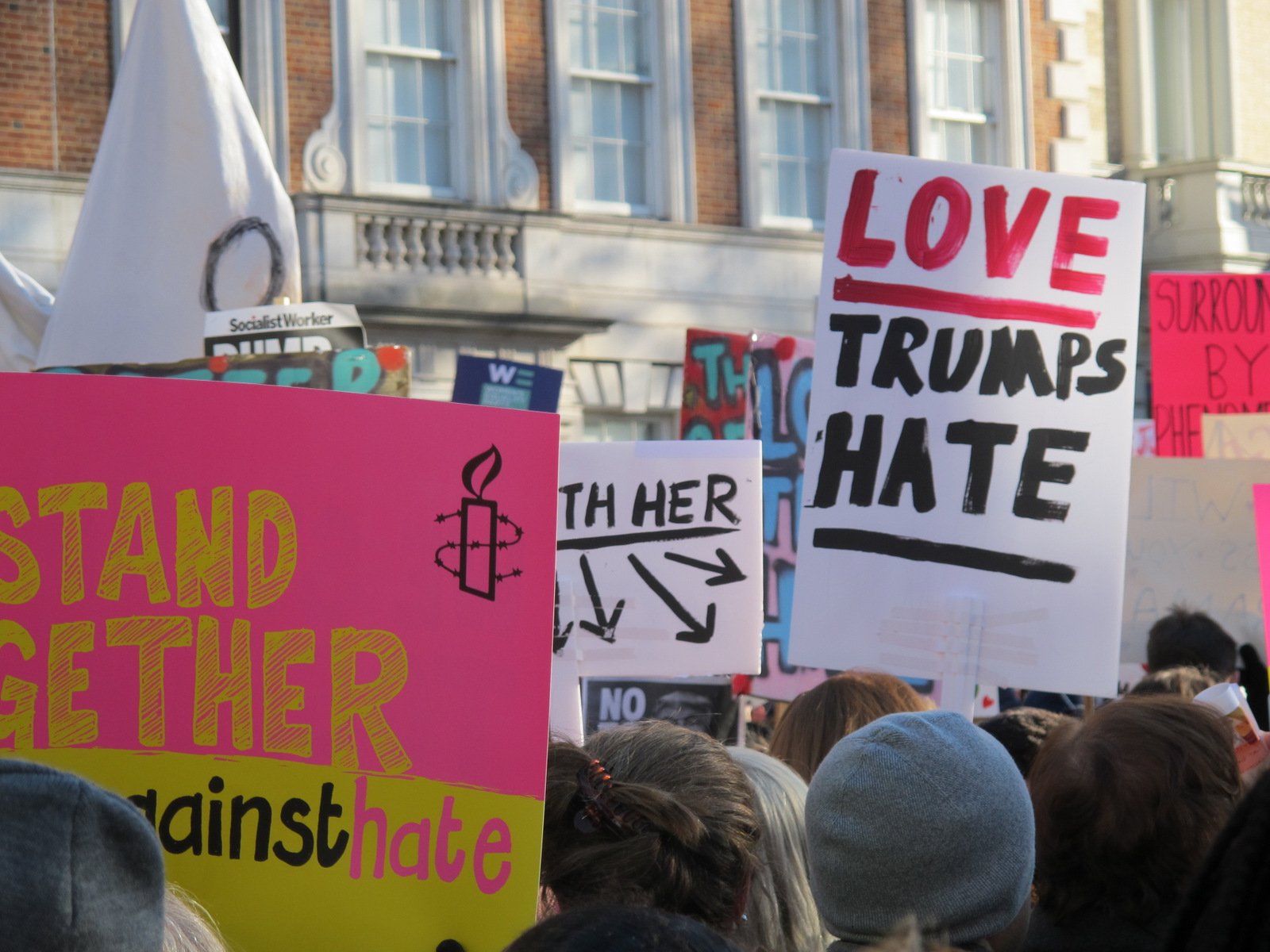 Why my heart has shattered in 2017 #womensmarch