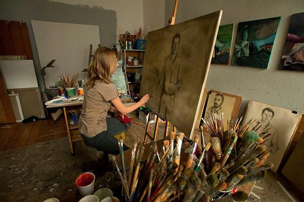 Berlin Drawing Room Painting Workshop With Maureen Jeram August 7 - September 11