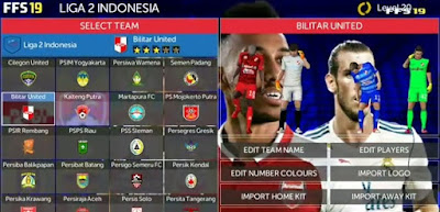 FTS 19 Mod Liga Indonesia