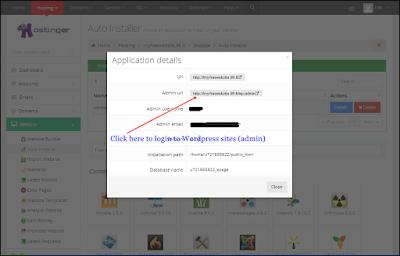 Gambar dan Panduan Memilih Script/Platform website di cPanel Hosting