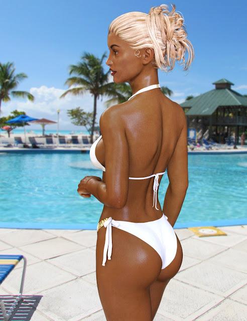 Luxury Bikini for Genesis 3 Female