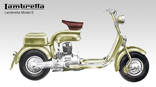 Model E ~ Vespa Scooters