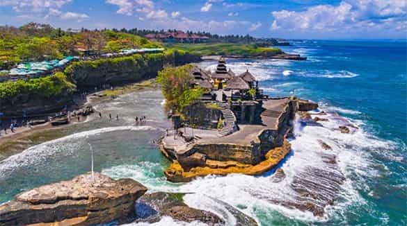 Destinasi Wisata Pulau Bali Pura Tanah Lot