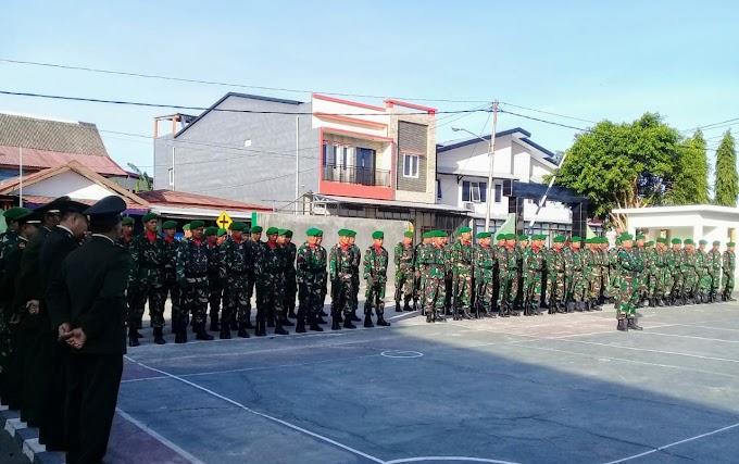 Bacakan Amanat Seragam Panglima TNI