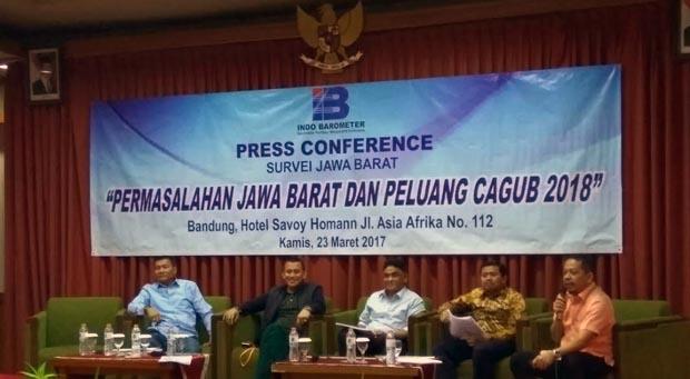 Ridwan Kamil Teratas di Bursa Gubernur Jabar Versi Survei Indo Barometer