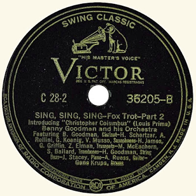 Sing sing sing (With a Swing). Louis Prima