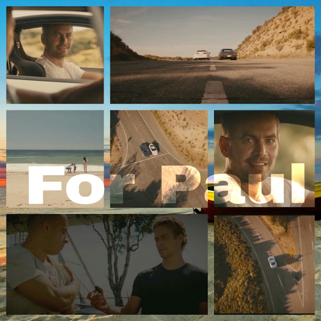 Furious 7 Collage - For Paul - World's Showcase