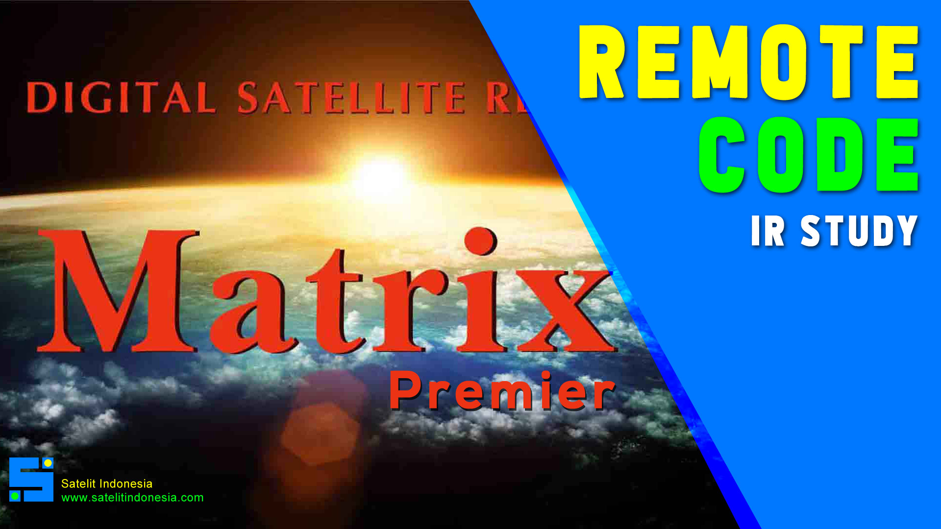 Kode Remote Receiver Parabola Matrix Premier HD