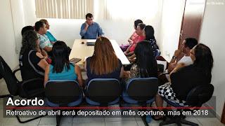 Sinpuc se reúne com Olivânio Remígio e define data para a adequação salarial