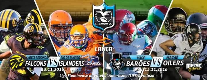 0bd1a3c551 Dois jogos fecham a temporada regular da LiFFA