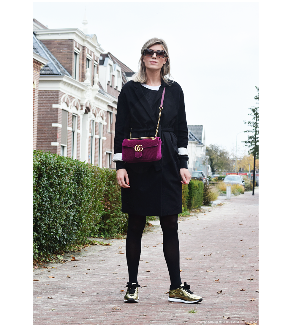 Outfit of the day, IKKS, Gucci, Falke, Hogan, Dewolf, look; fashion, ootd, style, blogger