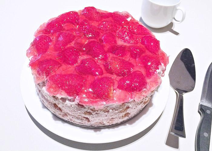 Erdbeer-Biskotten Torte