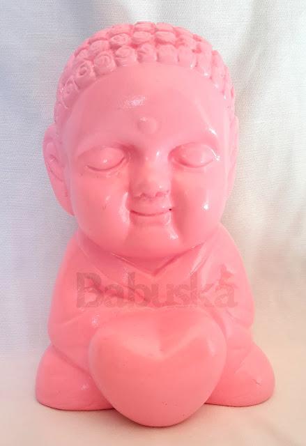 Buda de la Alegría, también conocido como Musical, pintado y laqueado a mano (B741) Babuska