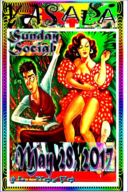 YA Salsa Sunday Social 2017.05.28