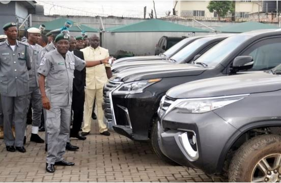 Customs Seizes 9 Expensive Bulletproof Cars, Others (Photos)