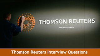 Thomson Reuters Interview Questions