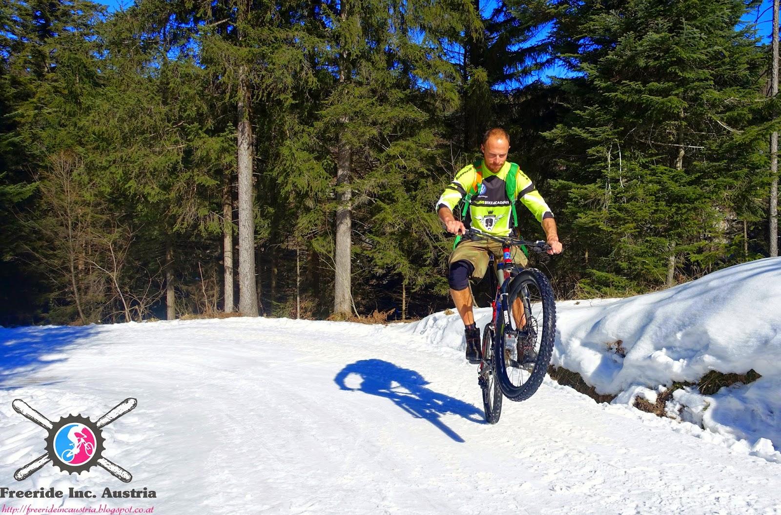 Mountainbike Touren Winter