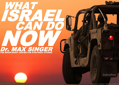 What Israel Can Do Now by Dr. Max Singer, BESA Center