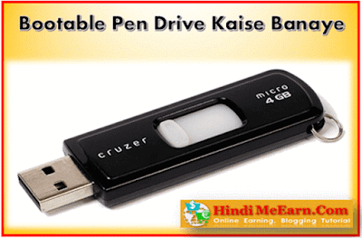 Make Bootable Pen Drive
