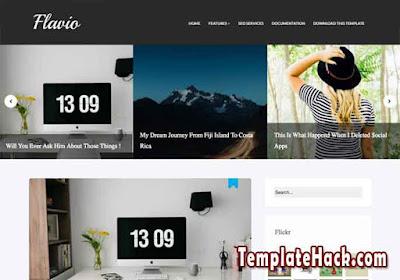 flavio blogger template