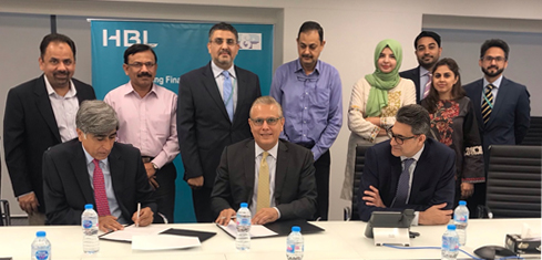HBL and Muller & Phipps sign MOU to promote financial inclusion.