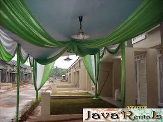 Sewa Tenda Semi Dekor - Rental Tenda Semi Dekor Pernikahan