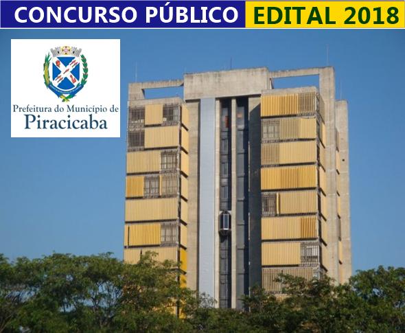 concurso Prefeitura de Piracicaba com 19 vagas