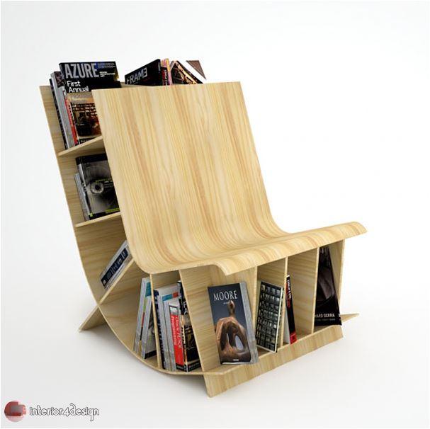 70 Best Bookshelf Designs 24