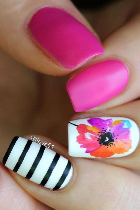 Charming Nail Art Ideas for Summer
