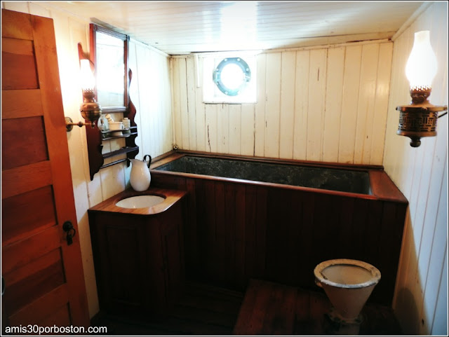Baño Capitán del Balclutha