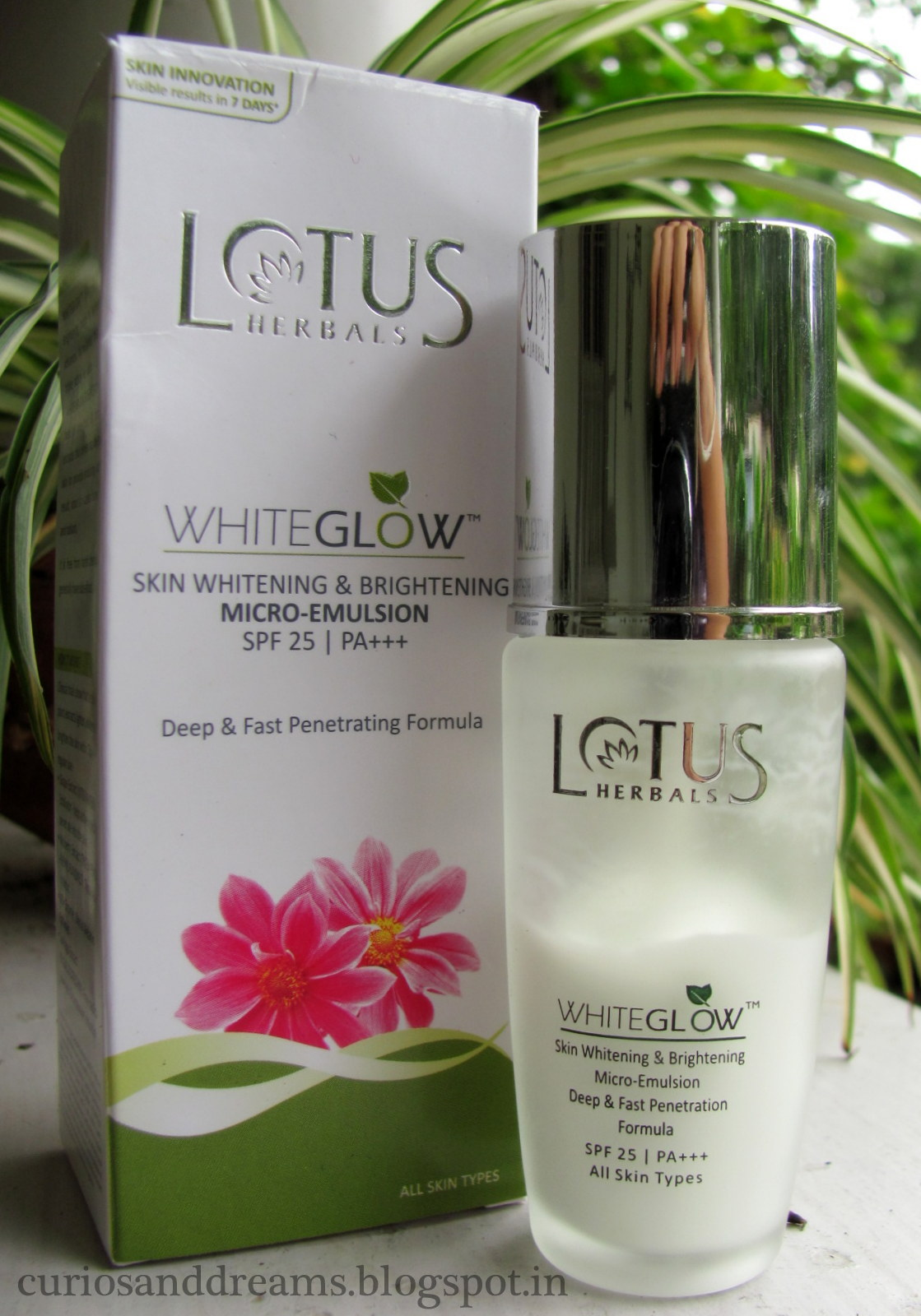 Lotus Day Cream Dry Skin