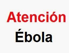 Cartel Atención ébola