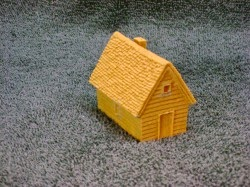 NST4004 Small gabled frame house.