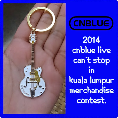 2014 CNBLUE Live Can't Stop in Kuala Lumpur Merchandise Contest.