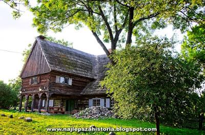 Zabytkowy budynek mennonicki (olęderski) w Chrystkowie w woj. kujawsko-pomorskim.